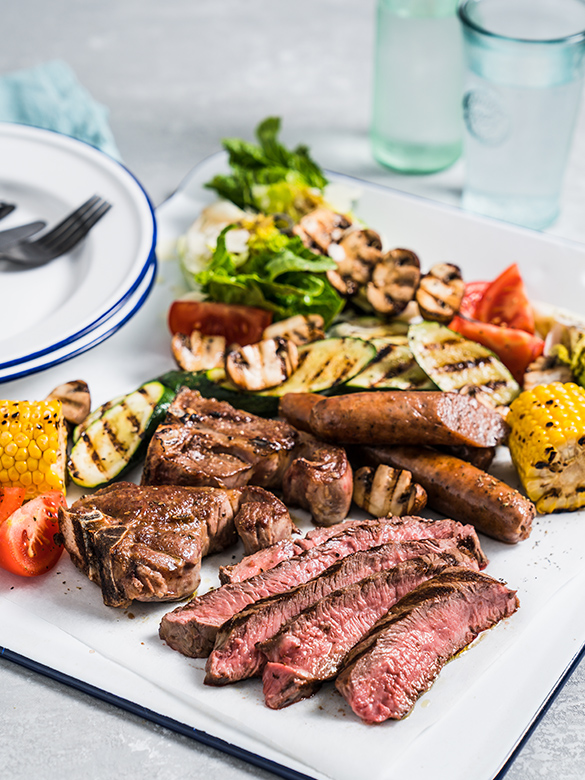 The Healthy Mixed Grill