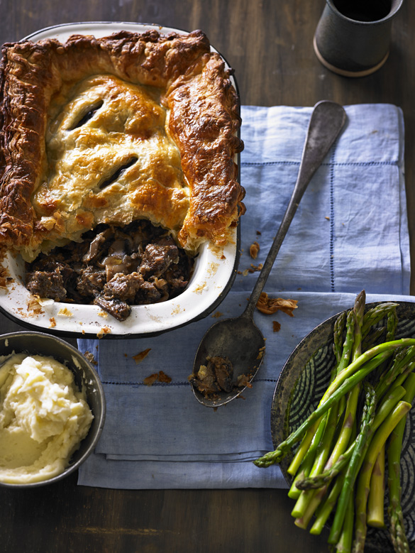 Beef And Portobello Mushroom Pie Recipe Australian Beef Recipes Cooking Tips And More
