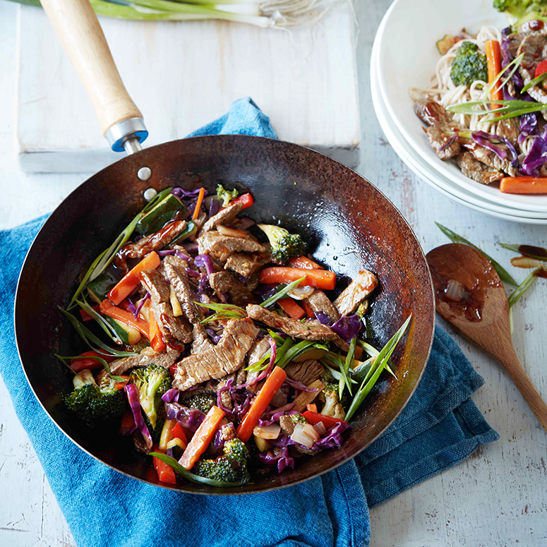 TABLE Cooking Class:Quick and Easy Aussie Beef Stir Fry