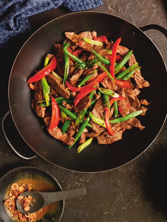Beef And Lemongrass Stir Fry Recipe Australian Beef Recipes Cooking Tips And More