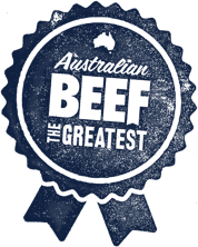 The Greatest Australian Beef Badge